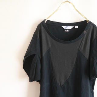 アディダス(adidas)の【adidas】半袖Tシャツ 変形スリーブ☆(Tシャツ/カットソー(半袖/袖なし))