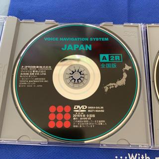 トヨタ(トヨタ)のナビディスク 2016年春 全国版DVD(カーナビ/カーテレビ)