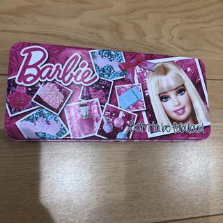 バービー(Barbie)のバービー Barbie 缶ケース 缶ペンケース(ペンケース/筆箱)