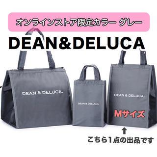 ディーンアンドデルーカ(DEAN & DELUCA)のM グレーDEAN&DELUCA 保冷バッグ エコバッグトートバッグランチバッグ(エコバッグ)