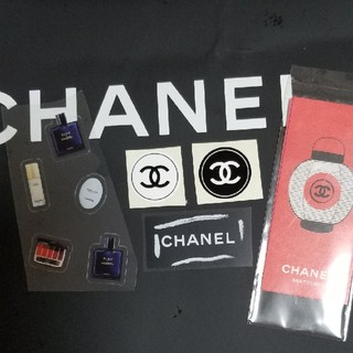 シャネル(CHANEL)の☆④シャネル色々シール5片セット(シール)