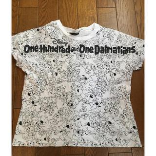 ジーユー(GU)のGU  サイズ S  Tシャツ  ディズニー(Tシャツ(半袖/袖なし))