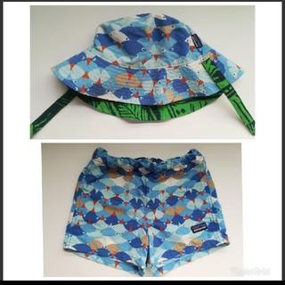 パタゴニア(patagonia)のパタゴニア 3T  水着 帽子 セット(水着)