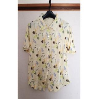 スカラー(ScoLar)のScoLar スカラー アロハシャツ ボタニカル 綿100%(シャツ/ブラウス(半袖/袖なし))