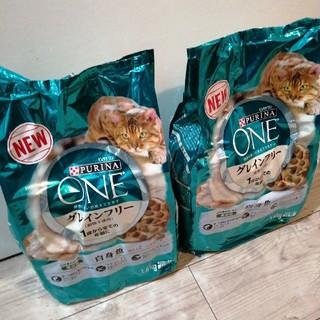 Nestle - ピュリナ ワン グレインフリー 白身魚 2袋