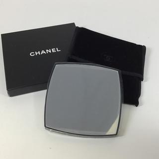 シャネル(CHANEL)のシャネル 両面ミラー 拡大鏡付 保護フイルム付  ☆未使用☆ CHANEL (ミラー)