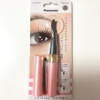 パナソニック(Panasonic)のまつげくるん つけまつげ用  ピンク EH-SE70-P💋ほぼ新品(つけまつげ)