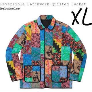 シュプリーム(Supreme)のsupreme  patchwork quilted jacket (Gジャン/デニムジャケット)