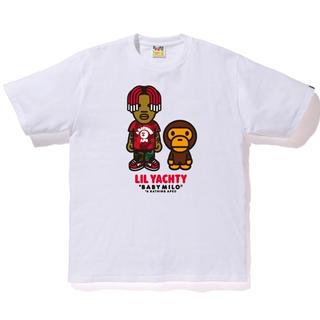 アベイシングエイプ(A BATHING APE)のBape x Lil Yatchy Tee #1 White(Tシャツ/カットソー(半袖/袖なし))