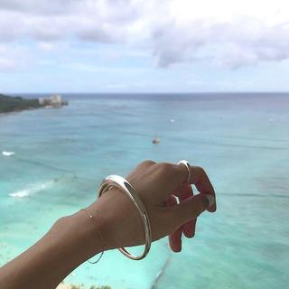 プラージュ(Plage)の出品終了間近!c-plus(シープラス)Luna ring † silver(リング(指輪))