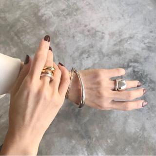 プラージュ(Plage)の【oran様専用】c-plus Lunabangle † silver(ブレスレット/バングル)
