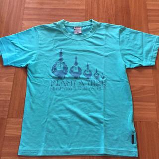 コロンビア(Columbia)のColumbia TITANIUM タイタニウム Tシャツ ブルー(Tシャツ/カットソー(半袖/袖なし))