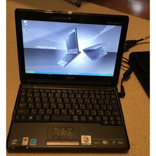 エイサー(Acer)の【PCデボンさん専用】acer Aspire one  Windows xp(ノートPC)