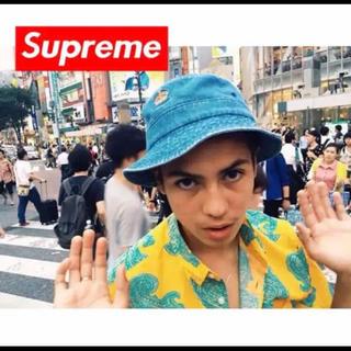 シュプリーム(Supreme)のsupreme バケットハット(ハット)