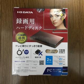 IODATA - I-O DATA 外付けHDD ハードディスク 2TB HDPT-UT2DBR