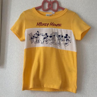 シマムラ(しまむら)の新品未使用 タグ付きしまむら ミッキー 半袖Tシャツ 110cm(Tシャツ/カットソー)