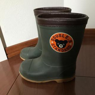 ダブルビー(DOUBLE.B)のダブルB  長靴 レインシューズ 16cm ミキハウス(長靴/レインシューズ)