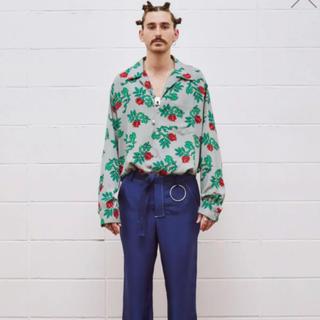 アンユーズド(UNUSED)のUNUSED ROSE PATTERN LONG-SLEEVE SHIRT (Tシャツ/カットソー(七分/長袖))