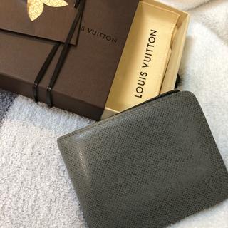 new concept a138f cb26e ルイヴィトン Louis Vuitton タイガ 財布 2つ折り メンズサイフ