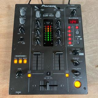 パイオニア(Pioneer)の【人気機種】Pioneer DJM-400 Djミキサー 09年製(DJミキサー)