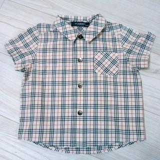 バーバリー(BURBERRY)のBURBERRY 男女兼用 半袖シャツ 80(シャツ/カットソー)