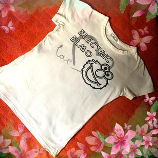 セサミストリート(SESAME STREET)のセサミストリート  エルモ ❣️白 Tシャツ ❣️(Tシャツ(半袖/袖なし))