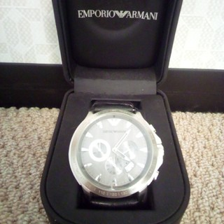 エンポリオアルマーニ(Emporio Armani)のEMPORIO ARMANI メンズ腕時計 AR0635(レザーベルト)