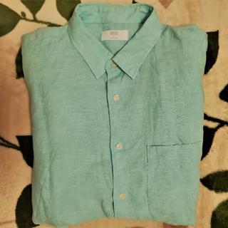 ユニクロ(UNIQLO)のユニクロ メンズシャツ(長袖) XL(シャツ)