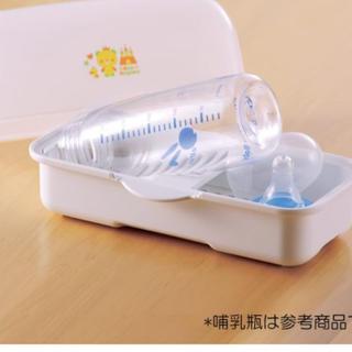 ニシマツヤ(西松屋)の電子レンジ用哺乳瓶消毒器 西松屋(哺乳ビン用消毒/衛生ケース)