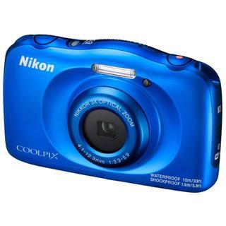 ニコン(Nikon)のすー様専用 展示品☆ニコン Nikon COOLPIX W100 ブルー 元箱(コンパクトデジタルカメラ)