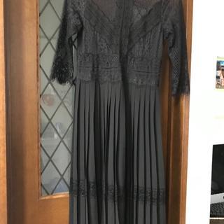 ザラ(ZARA)のn.ab 様専用 Zara パーティドレス (ブラック サイズS)(ナイトドレス)