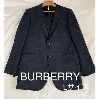 バーバリー(BURBERRY)の極美品*BURBERRY LONDON バーバリー*チェックテーラードジャケット(テーラードジャケット)