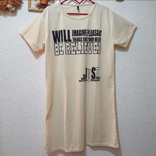 シマムラ(しまむら)の速乾 シャツ ワンピース♥️Mサイズ しまむら アベイル(シャツ/ブラウス(半袖/袖なし))