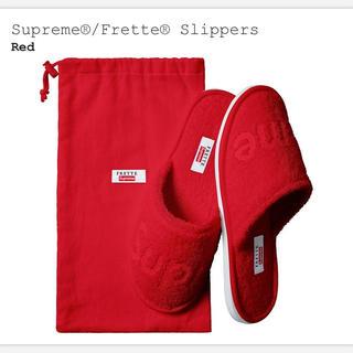 シュプリーム(Supreme)のsupreme Frette Slippers スリッパ(スリッパ/ルームシューズ)
