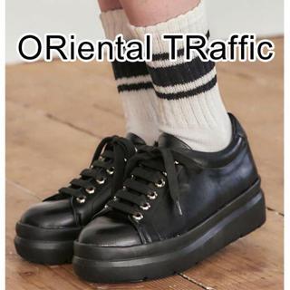 オリエンタルトラフィック(ORiental TRaffic)のオリエンタルトラフィック 厚底スニーカー 22㎝ Sサイズ(スニーカー)
