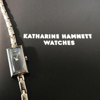 キャサリンハムネット(KATHARINE HAMNETT)の値下げ⬇︎ キャサリンハムネット 腕時計 箱あり(腕時計)