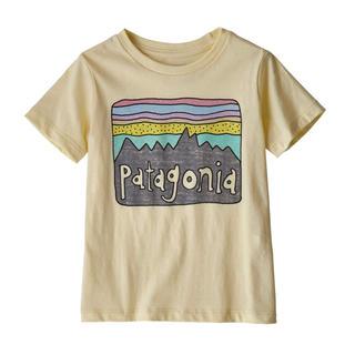 パタゴニア(patagonia)のパタゴニア 新品タグ付き キッズTシャツ 4T ResinYellow(Tシャツ/カットソー)