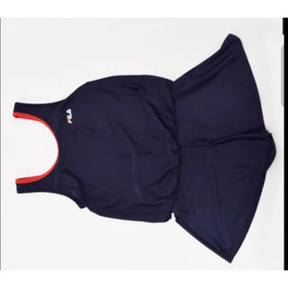 7d2b63ae92a フィラ(FILA)の新品 送料込み!150FILAスクール水着 ワンピース スカート キュロット(
