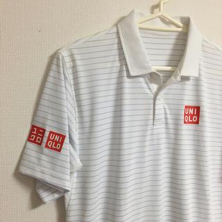 ユニクロ(UNIQLO)の美品 ユニクロ 錦織圭 ポロシャツ モデル (ウェア)