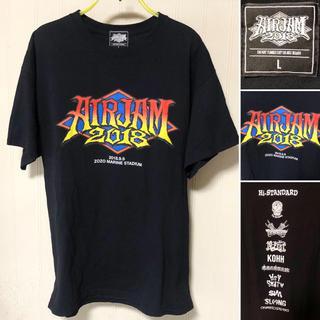 HIGH!STANDARD - 新品同様❗️AIR JAM 2018 オフィシャル Tシャツ