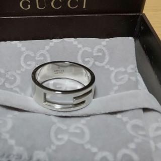 グッチ(Gucci)の希少 27号表記 GUCCI Gリング ブランデッド 指輪 グッチ(リング(指輪))