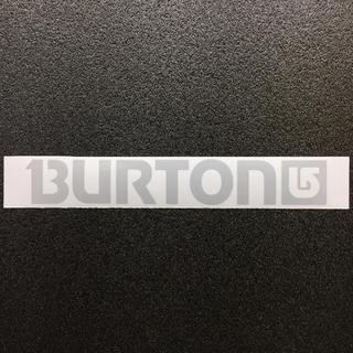 BURTON - 【再帰反射素材】 BURTONロゴ リフレクターカッティングステッカー 送料無料