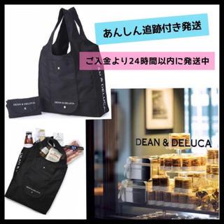 ディーンアンドデルーカ(DEAN & DELUCA)の紙袋付き♩DEAN&DELUCAショッピングバッグ黒エコバッグ トートバッグ新品(エコバッグ)
