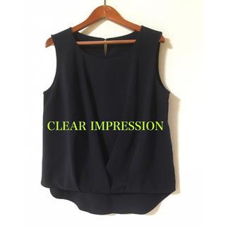 クリアインプレッション(CLEAR IMPRESSION)のCLEAR IMPRESSION✨ノースリーブ ブラウス(シャツ/ブラウス(半袖/袖なし))