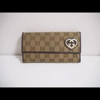 ca1b92311c86 グッチ ハート 財布(レディース)の通販 500点以上 | Gucciのレディースを ...