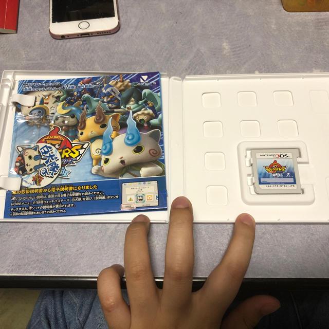 ニンテンドー3DS(ニンテンドー3DS)の任天堂3DSソフト 妖怪ウォッチバスターズ白犬隊 エンタメ/ホビーのゲームソフト/ゲーム機本体(家庭用ゲームソフト)の商品写真