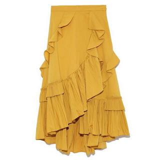 フレイアイディー(FRAY I.D)のFRAY♡フレイ♡フリルプリーツスカート(ロングスカート)