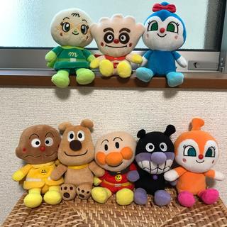 アンパンマン(アンパンマン)のアンパンマン 人形 8体セット(ぬいぐるみ/人形)