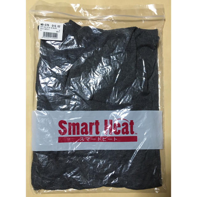 cecile(セシール)のスマートヒート ルーズネックTシャツ  長袖 レディースの下着/アンダーウェア(アンダーシャツ/防寒インナー)の商品写真