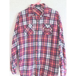 ジェニィ(JENNI)のJENNI チェックシャツ(ジャケット/上着)